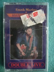 Frank-Marino-amp-Mahogany-Rush-DOUBLE-LIVE-Factory-Sealed-Cassette-Guitar-Blues-NR