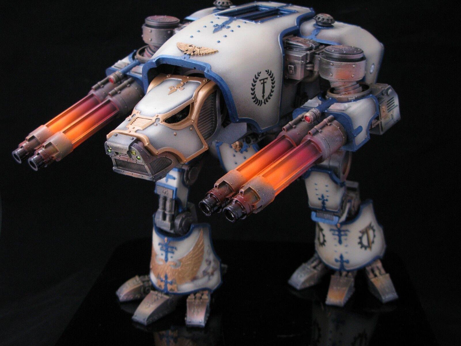 precio razonable Warhammer 30 40k forgeworld Warhound Titan Pro Pro Pro Pintado A Pedido  tienda de venta en línea
