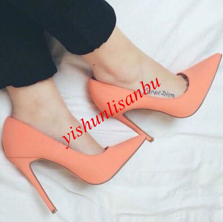 Donna pointed toe slip stiletto heel slip toe on pumps elegant formal high heels sandals 7e9537