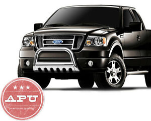 2014 Ford F150 F 150 Stainless Bull Bar 3 Led Off Road