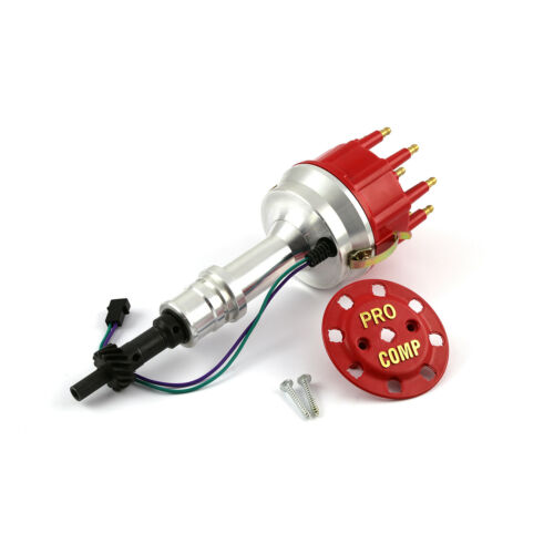 Ford 302 351C Cleveland Early 460 Race Pro Billet Aluminum Distributor Red Cap