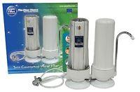 2 Stufiges Filtersystem Arbeitsplatte Doppel Trinkwasserfilter Mit Wasserhahn