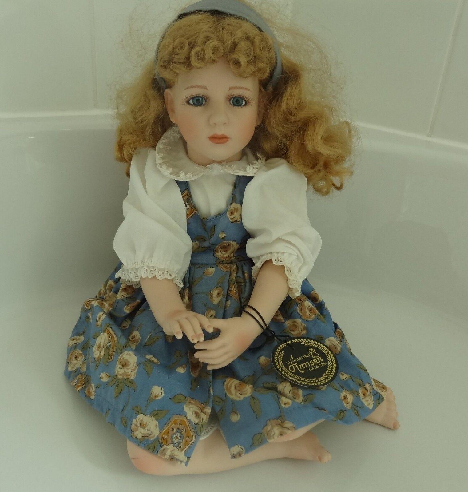 BAMBOLA di porcellana PORCELLANA testa bambola la Artisan Collection certificato DOLL Karen