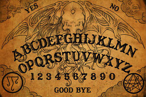 Details about Framed Print , Vintage Ouija Board (Picture Poster Art Ghost  Magic Death Dead)