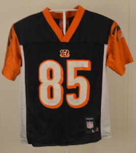 696a33a1 Details about Reebok Cincinnati Bengals Jersey #85 Chad Johnson NFL  Football Youth Large 7
