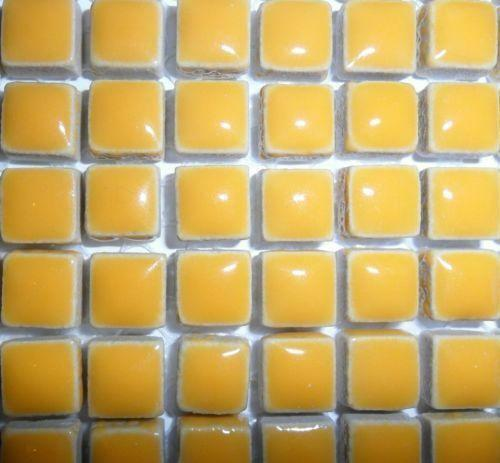 81 mini vetro mosaico in ceramica 10mm-Curry