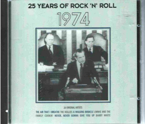 25 Years Of Rock N Roll 1974 -  CD C7VG The Cheap Fast Free Post The Cheap Fast