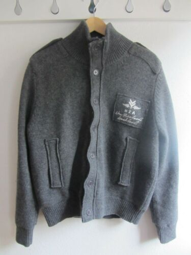 Auckland New Lammwole Jacke M Winter Gr Zealand Strick Nza EUwqSFF