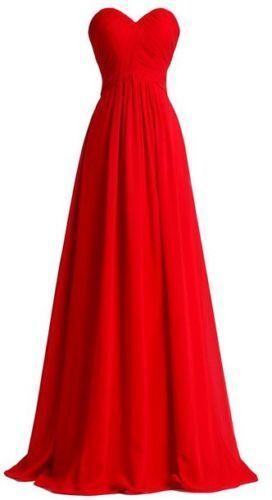 New Chiffon Formal Prom Party Wedding Bridesmaid Evening Dress Stock Size 6-22