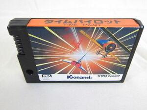 MSX-TIME-PILOT-Cartridge-only-Konami-RC703-Import-Japan-Video-Game-MSX