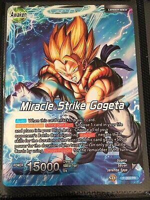 Miracle Strike Gogeta P-069 PR SEALED Dragon Ball Super TCG NEAR MINT