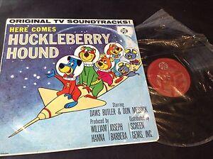 Hanna-Barbera-Here-Comes-Huckleberry-Hound-Original-TV-Soundtracks-PYE-Sample