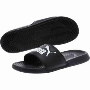 2e2b9019ad555a Puma Popcat Men s Sandals Black White 360265 10 Fast shipping LaSO ...