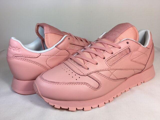 reebok classic leather patina pink retro