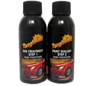 Toughseal Car Paint Protection Kit Step 1 & 2 Pre-Treatment & Acrylic 8% Sealant