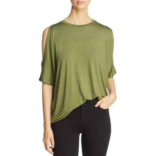 A+A Collection Womens Cold Shoulder Dolman Sleeves Box Top Blouse BHFO 4987