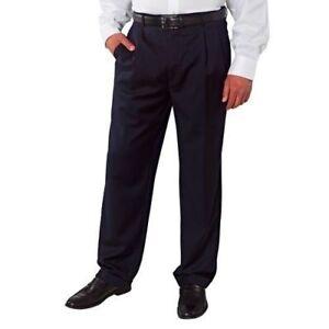 0d9f8c35 Details about SALE! Men's Kirkland Signature 100% Italian Wool Pleated  Dress Slacks Pants