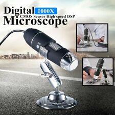 Triangle-Box 50-500X 2MP USB 8 LED Industrial Microscope