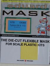 Eduard 1/72 CX363 Canopy Mask for the Airfix Hawker Typhoon Ib kit