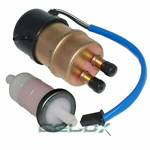 Fit Kawasaki ZX1100D NINJA ZX11 1990 1991 1992 1993 1994-2001 Fuel Pump & Filter