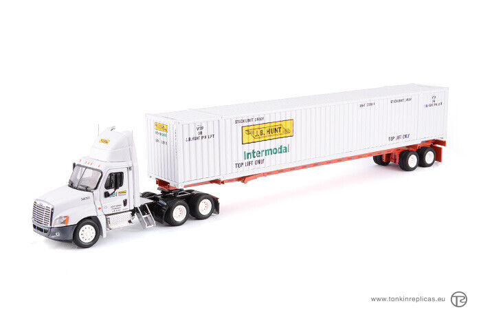 Tonkin replicas freightliner cascadia day cab fairing 6x4 + 53ft container