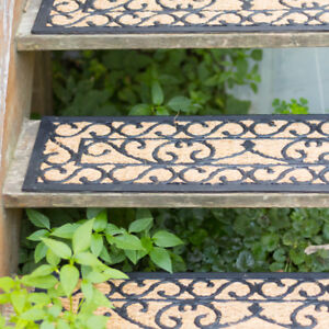 Fußmatte Sisal fußmatte mit sisal nostalgische landhaus türmatte ebay