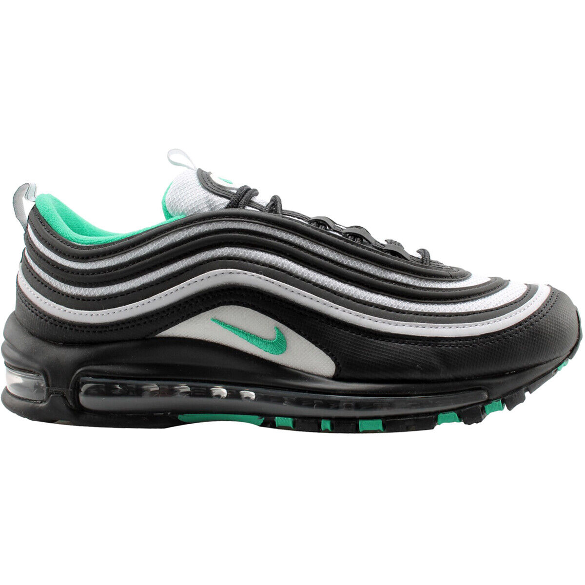 Nike Air Max 97 Textile Synthetic Retro Running Low-Top Herren Trainer
