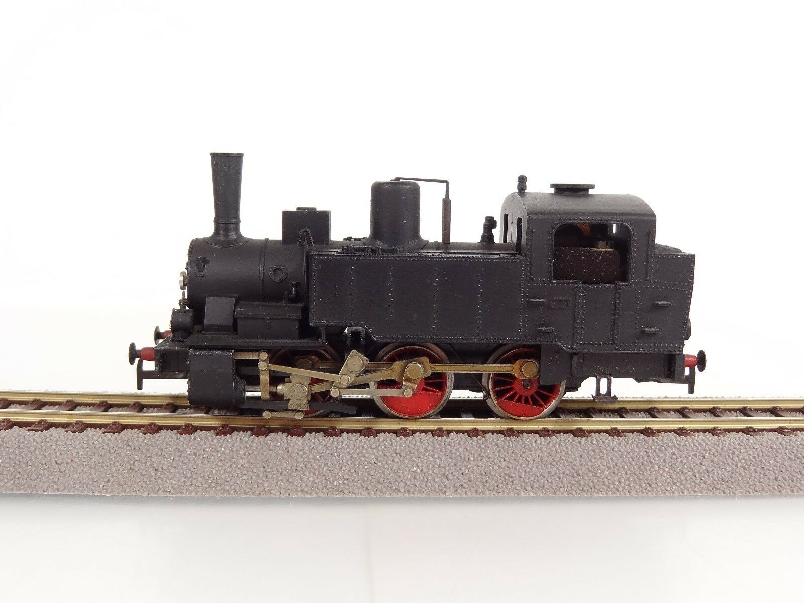 Vintage Rivarossi HO Scale 0-6-0 Switch Style Steam Engine Item L835 R