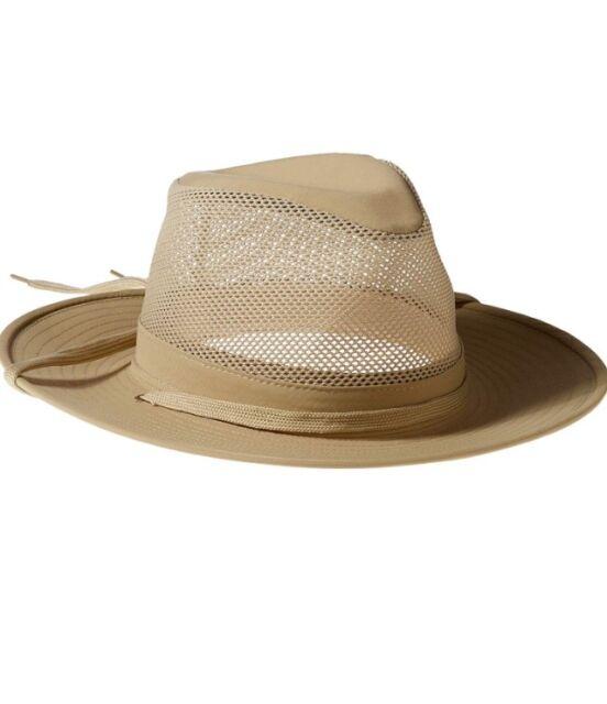 c6b6d90b1e9 Henschel Mens Aussie Crushable Hat Khaki Medium for sale online