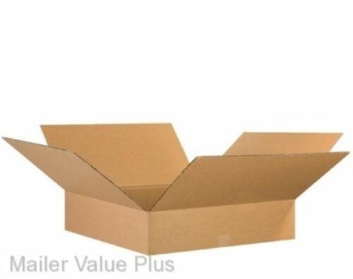 50 18 x 18 x 4 Corrugated Shipping Boxes Packing Storage Cartons Cardboard Box