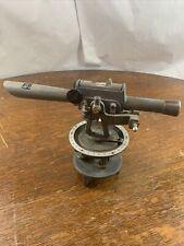 Vintage David White Model 8007 Light Surveying Level Transit Instrument