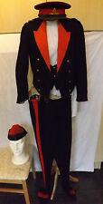 Military WW1/2 Royal Artillery Officers Dress Tunic Uniform Hats Capt F.T (1987)
