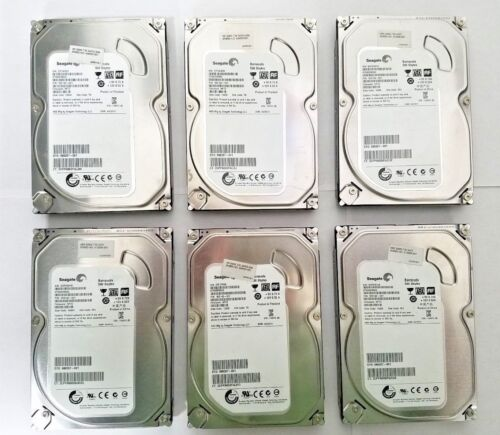 "6 Seagate Barracuda 500GB 3.5/"" SATA 6Gb//s 7200RPM HDD ST500DM002 FREE SHIPPING"