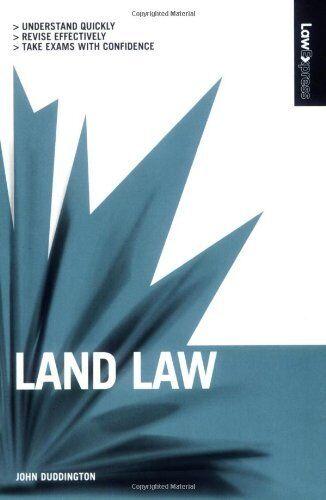 Land Law (Law Express),John Duddington