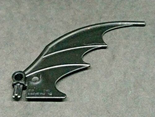 Black x1 55706 Lego Animal Dragon Wing 8x10