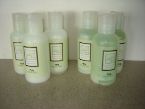Eucalyptus w//flip lid 6 Princess Cruises Toiletries 3 Shampoo /& 3 Conditioner