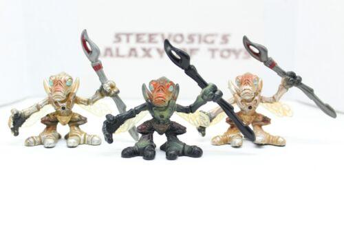 Star Wars Galactic Heroes Attack Of Clone Geonosian Warrior Lot W// Commander