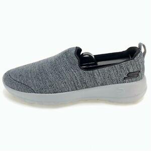 Skechers Womens Go Walk Joy 15611 Gray Walking Shoes Slip On Low Top Size 6