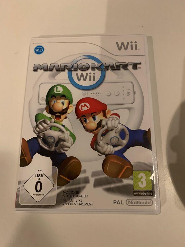 MarioKart inkl Rat, Nintendo Wii, racing