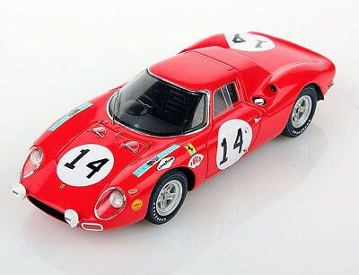 FERRARI 250 LM LE MANS 1968 #14 Looksmart 1:43 LSLM 041 NUOVO
