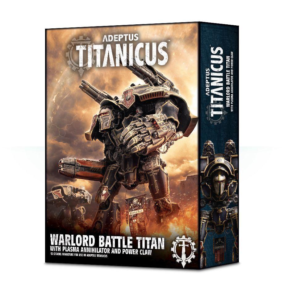 Adeptus Titanicus Warlord Titan avec Plasma Annihilator Games Workshop 40k GW