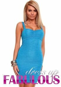 NEW-SEXY-WOMEN-039-S-SUMMER-DRESS-Size-6-8-10-12-LADIES-HOT-CASUAL-CLUBBING-WEAR-S-M