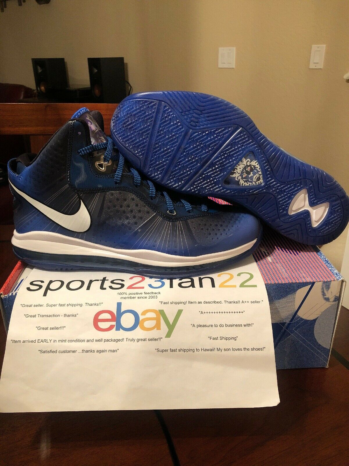 Nike LeBron 8 V 2 All Star Edition Size 13 Deadstock New In Box NIB
