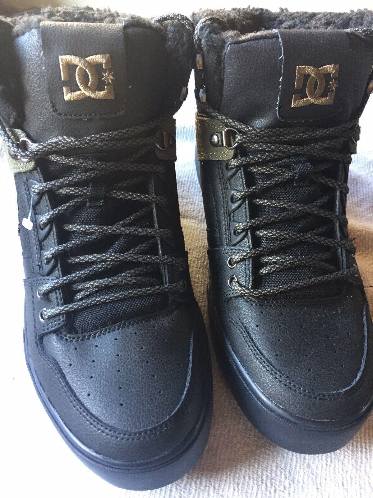 DC Men's Spartan High WC Stiefel Stiefel Gr.46 , Leder,schwarz, warmgefüttert, Neu