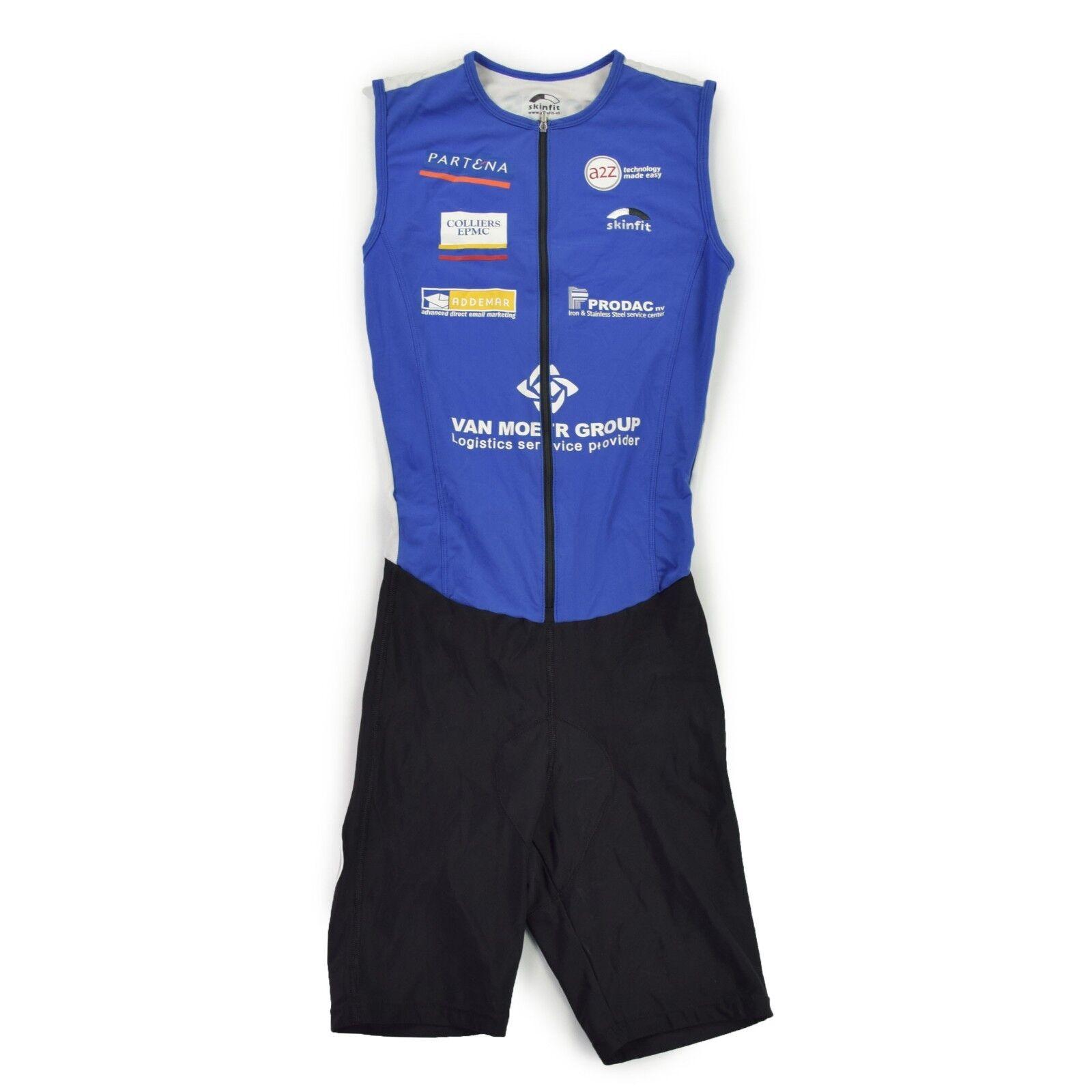 SKINFIT Triatlon Anzug Gr. L SUIT Einteiler Skinsuit Trikot Maillot wie NEU
