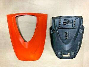 07-08-Honda-CBR-600-RR-Rear-Seat-Cowl-Hard-Fairing-Cover-Orange-OEM