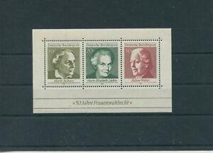 Allemagne-Federal-Rfa-Vintage-1969-Bloc-5-Neuf-MNH-Plus-Sh-Boutique