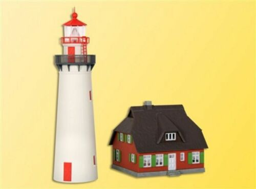 Kibri 39153 Es Ladyez Lighthouse with Side Building, Kit, H0
