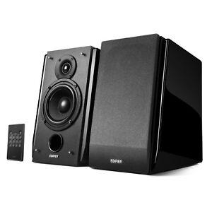 Image Is Loading Edifier R1850DB Powered Bookshelf Speaker Bluetooth Optical Subwoofer