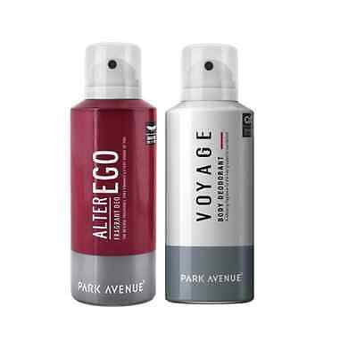 Park Avenue  ALTER EGO & VOYAGE Perfume Spray 130 ML For Men ( PACK OF1) MRP 480